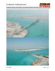 Saadiyat Brücke, Abu Dhabi - Strabag