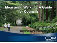 Measuring Walking: A Guide for Councils - Victoria Walks