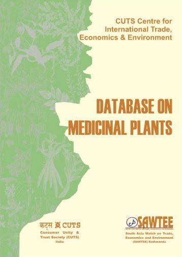 Database on Medicinal Plants / 1 - Consumer Unity & Trust Society