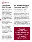Provider Newsletter October 2011 - Community Care Behavioral ... - Page 2