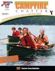 C H A T T E R - YMCA of Greater Toronto