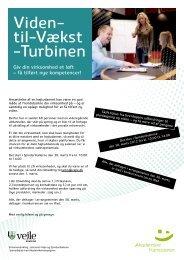 Viden- til-Vækst -Turbinen - Spinderihallerne