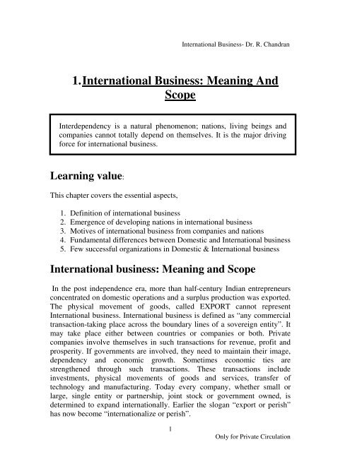 International-Business-Dr-R-Chandran-E-book