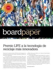 Premio LIFE a la tecnología de reciclaje más innovadora - Stora Enso