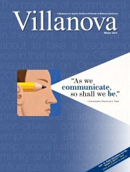 communicate - Villanova University