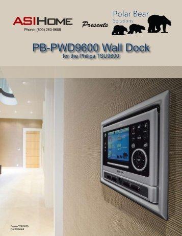 PB-PWD9600 Wall Dock - asi Home