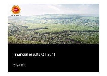 Financial results Q1 2011 - Stora Enso