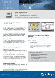 Trimble Access Carreteras GENIO - Al-Top Topografía