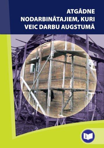 Atgādne darbs augstumā - Eiropas darba drošības un veselības ...