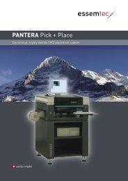 PANTERA Pick + Place - Sinerji Grup