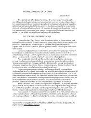 1 INTERPRETACIONES DE LA CRISIS Claudio Katz ... - cadtm