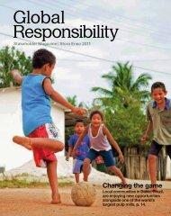 Stora Enso Global Responsibility Stakeholder Magazine 2011