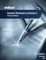 Insurance Requirements in Contracts Manual - ABAG PLAN Risk ...