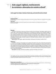 Aedes aegypti: vigilância, monitoramento da resistência e ...