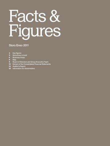 Stora Enso Facts & Figures 2011