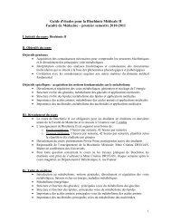 06. ghid de studiu BIOCHIMIE METABOLICA linia franceza an ... - UMF
