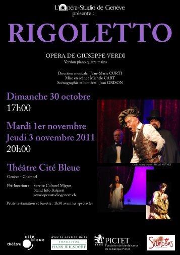 RIGOLETTO - Opera-Studio