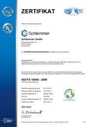 Poing / Haßfurt ISO/TS 16949_2016-03-12 - Schlemmer