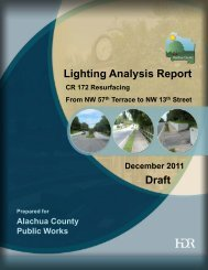 Lighting Analysis Report Draft - Alachua County BoCC