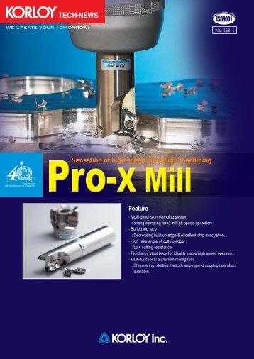 Pro-X Mill-EMO*-SIME - korloy