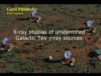 X-ray studies of unidentified Galactic TeV γ-ray sources - APC