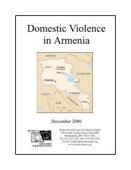 Domestic Violence in Moldova - The Advocates for Human Rights