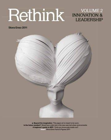 Stora Enso Annual Report 2011 - Rethink Volume 2 - Innovation ...