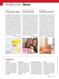 PFLEGE ALLTAG News - Heilberufe