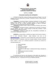 edital 01-2009 - atualização cadastral - Prefeitura Municipal de ...