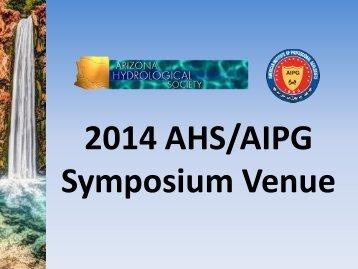 2014 Symposium Venue
