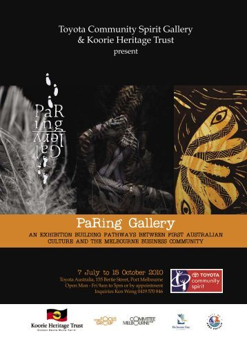 Download PaRing Gallery exhibition catalogue here - Watch Arts