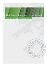 The Trevira Passport to the Future - Trevira GmbH