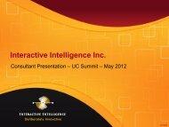 Consultant Presentation - UCStrategies.com