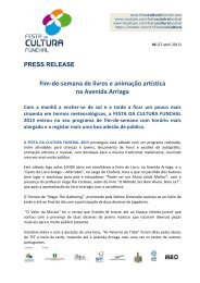 Press release 05 - Câmara Municipal do Funchal