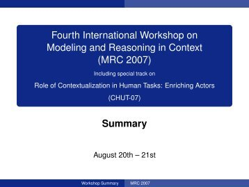 MRC 2007