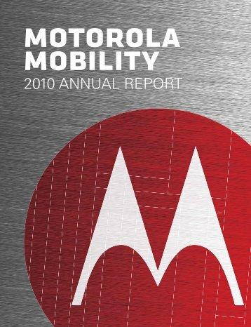 motorola mobility holdings, inc. - Login