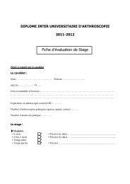 Fiche évaluation de stage 2011-2012