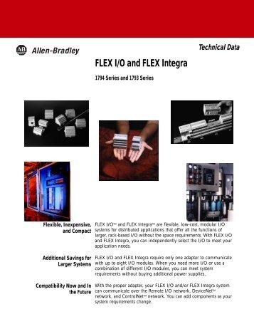 FLEX I/O and FLEX Integra