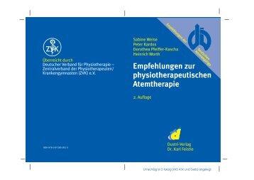 physiotherapeutischen Atemtherapie - Deutsche Atemwegsliga eV