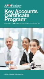 Key Accounts Certificate Program® - American Public Power ...