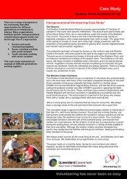 Wolston Creek Bushland Group case study - Volunteering Qld