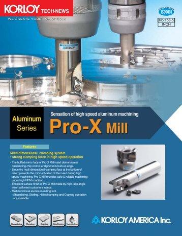Pro-X Mill - korloy