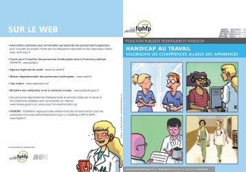 Livret de sensibilisation sur le handicap au travail - Anfh