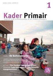Kader Primair 1 (2011-2012). - Avs