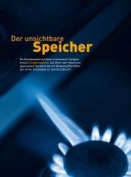Windgas - Speicher von morgen - Neue Energie