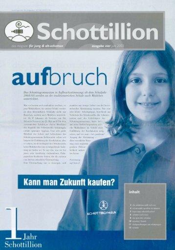 Schottillion Ausgabe Nr. 4 - Alt-Schotten