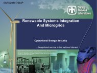 Renewable Systems Integration And Microgrids - Clean Technology ...