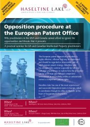 Opposition procedure at the European Patent Office