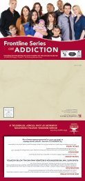 ADDICTION - Medical College of Wisconsin