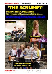 ISSUE 5 VOL 8 - Mag 4 Live Music